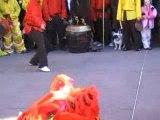Danse du dragon à Perpignan - Nouvel an chinois