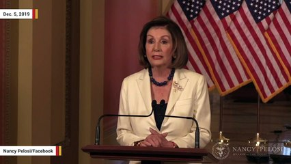 Pelosi: House Will Proceed With Articles Of Impeachment Against Trump