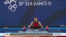 SEA Games 2019: Rahmat Erwin Sumbang Emas ke-4 Cabor Angkat Besi