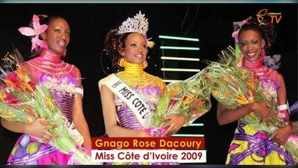 De Murielle Nanié à  Suy Fatem puis Tara Gueye, les Miss Côte d'Ivoire de 2008 à 2019