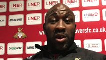 Darren Moore on why Leicester City U21s defeat left him downbeat