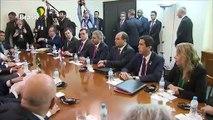 Bolsonaro encontra Benítez antes da cúpula