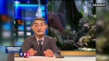 Naturalisation, Johnny Hallyday - Les Guignols - Canal+
