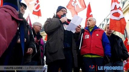 5 décembre au Puy-en-Velay, les manifestants ont la parole