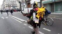 Thousands protest in Paris against retirement reform