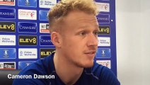 Sheffield Wednesday keeper Cameron Dawson on his future at the club