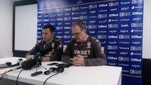 Marcelo Bielsa's Leeds United press conference before Huddersfield Town game