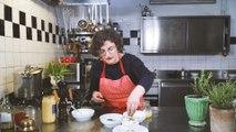 Kochen mit der Herknerin: Schnittlauchsauce aus selbstgemachter Mayonnaise