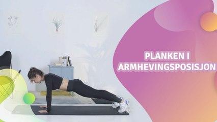 Planken i armhevingsposisjon - Veien til Helse