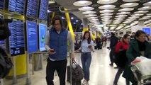 Sandra Gago y Feliciano López regresan de su luna de miel