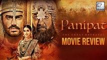 Panipat MOVIE REVIEW | Arjun Kapoor | Sanjay Dutt | Kriti Sanon