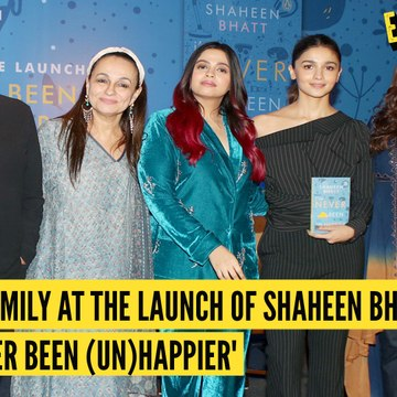 Shaheen Bhatt Launches Her Book, 'I've Never Been (Un)Happier'