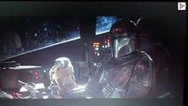 El meme perefecto de bebé Yoda apretando botones de la nave espacial