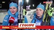 2 Françaises sur le podium - Biathlon - CM (F)