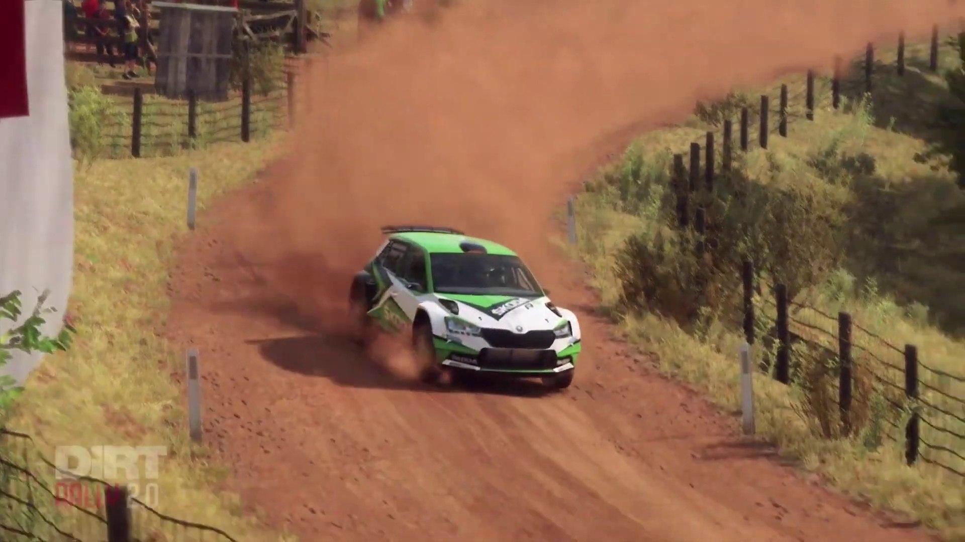 Skoda Fabia R5 Gameplay Dirt Rally 2 0 Game Video Dailymotion