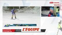 Braisaz «Avant le départ, j'étais terrorisée» - Biathlon - CM (F)