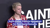 Justin Bieber And His Past Comments