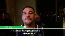 Ruiz hoping for a knock-out performance against Joshua