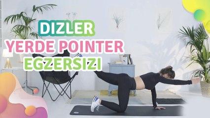 Dizler yerde pointer egzersizi - Sağlığa bir Adım