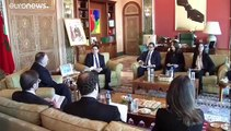 شاهد:بعد البرتغال بومبيو يصل الرباط في زيارته الأولى للمغرب