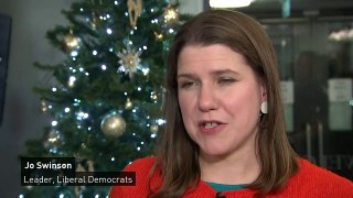 Jo Swinson says she won't 'apologise for being ambitious'