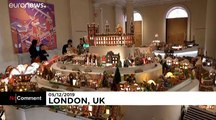 London architests showcase sustainable gingerbread city of the future