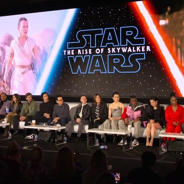 Star Wars The Rise of Skywalker Press Conference Part 1