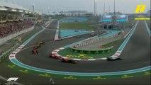 ملخص لأبرز أحداث الجولة الأخيرة من سباقات فورمولا 1 بحلبة أبو ظبي
