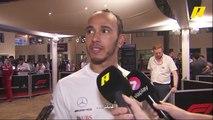ماذا قال هاميلتون وفيرشتابن وفيتيل بعد نهاية سباق أبو ظبي