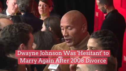 Dwayne Johnson Was 'Hesitant' To Marry Again After 2008 Divorce