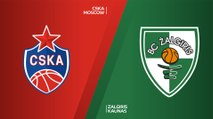 CSKA Moscow - Zalgiris Kaunas Highlights | Turkish Airlines EuroLeague, RS Round 12