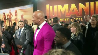 Karen Gillan, The Rock and Kevin Hart come to blows!