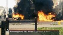 Procès des policiers brûlés à Viry-Châtillon : dix à vingt ans de prison pour huit accusés