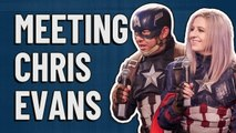 Marvel Avengers cosplay interview: On meeting Chris Evans/Captain America