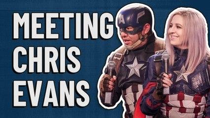 Marvel Avengers cosplay interview: On meeting Chris Evans/Captain America