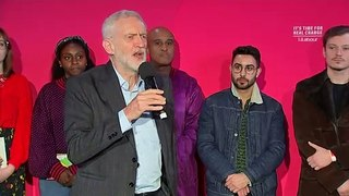 Jeremy Corbyn speaks at Birmingham rally