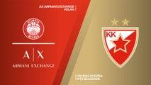 AX Armani Exchange Milan - Crvena Zvezda mts Belgrade Highlights | EuroLeague, RS Round 12