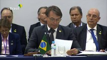 Bolsonaro passa presidência do Mercosul