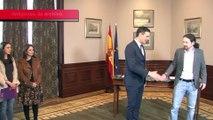Sánchez e Iglesias se reúnen para abordar la investidura