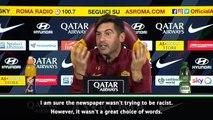 'Black Friday' headline sparks near-sympathetic reaction from Roma boss