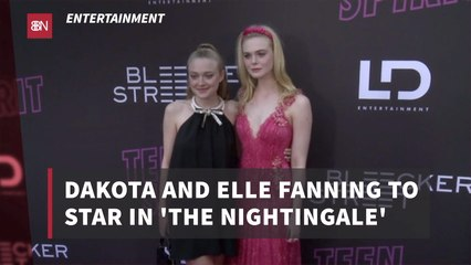 The Fanning Sisters Work On A New Project