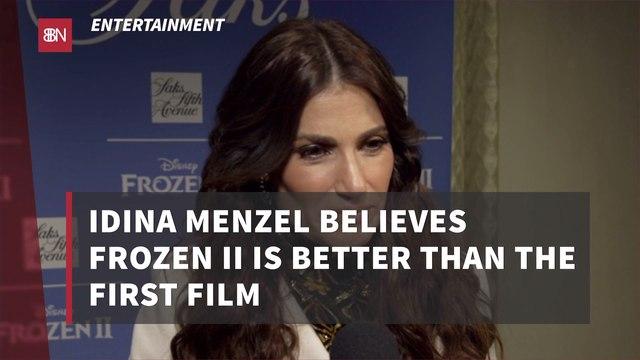 Idina Menzel Really Enjoyed 'Frozen 2'