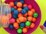 Learn Colors with Smile Face Balls for Kids- Teaching Colors for Children