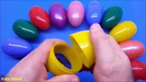 Learn To Count 0 to 10  with Surprise Eggs for Kids- Kindergarten