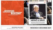 Les Grands Débats - Hervé Le Bras - 041219