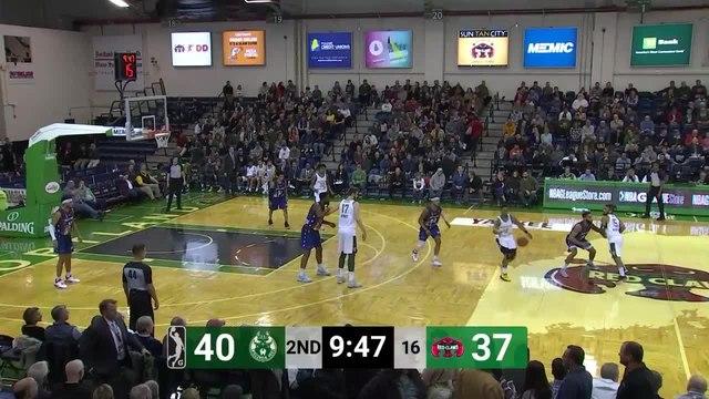 Jemerrio Jones Posts 14 points & 13 rebounds vs. Maine Red Claws