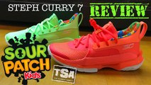 Sour Patch Kids Steph Curry UA Under Armour  Sneaker Detailed Look