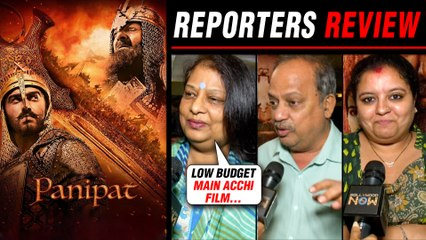 Panipat Movie HONEST Reporters Review ⭐⭐⭐   Sanjay Dutt, Arjun Kapoor, Kriti Sanon
