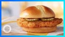 宣布加入炸雞漢堡割喉戰 美國麥當勞試賣開跑