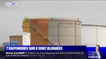 7 des 8 raffineries de métropole sont bloquées depuis jeudi matin